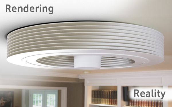 Tesla Inspired Bladeless Ceiling Fan