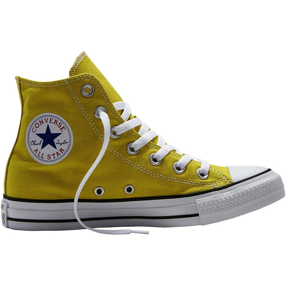 1ded9bf3a6d0 Chuck Taylor All Star Hi Top Bitter Lemon Straw Yellow Level 1 3.5 ...