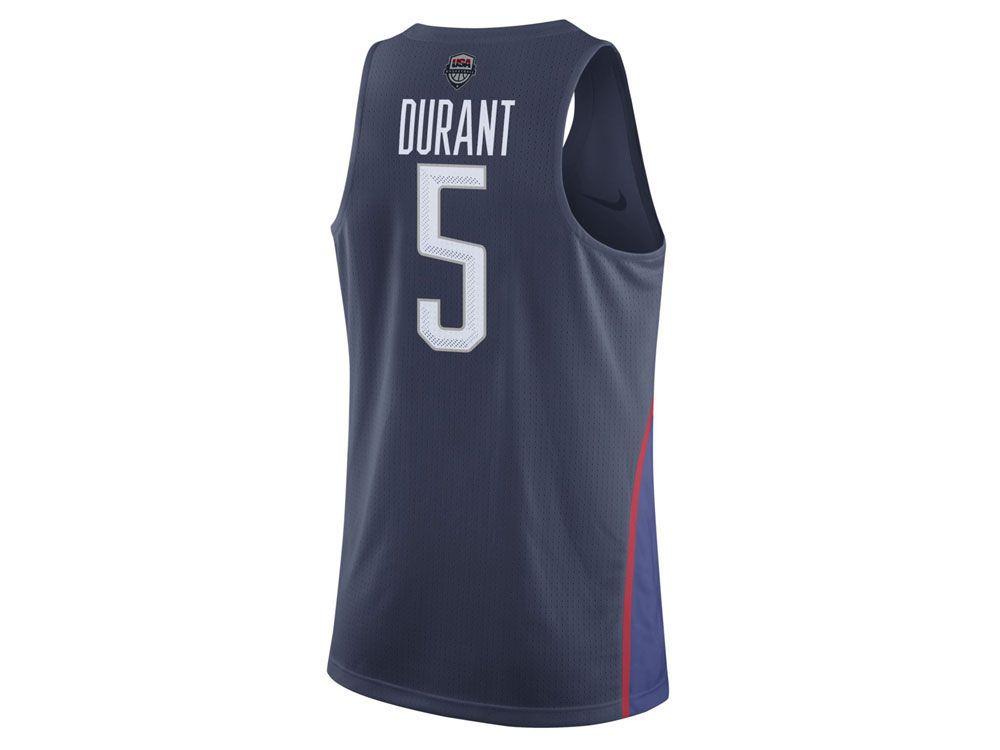 Kevin Durant Nike NBA Men\u0027s Rio Elite Replica Jersey