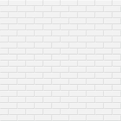 White bricks vector pattern pinterest - Blanquear juntas de azulejos ...