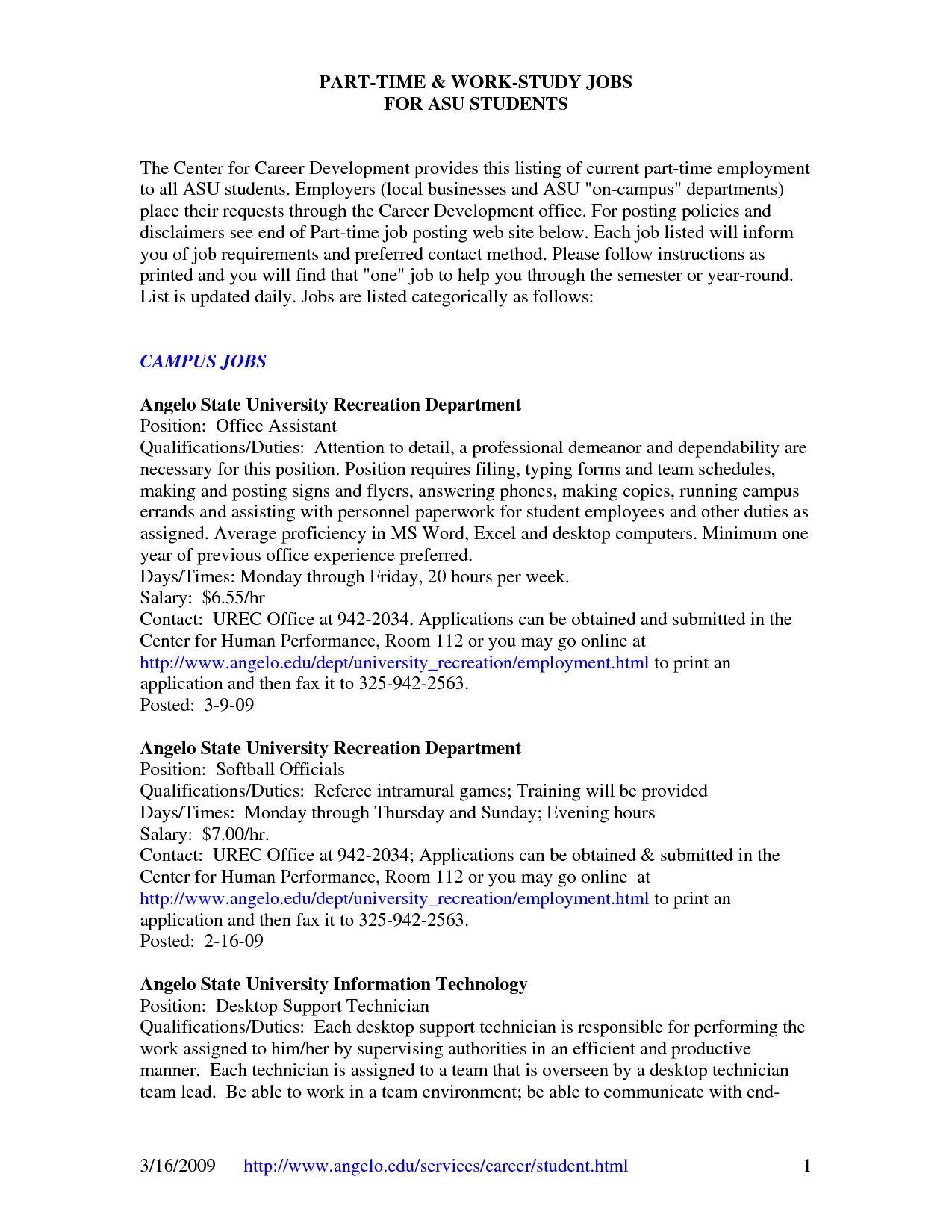 Resume Examples For 19 Year Old Resume examples, Job