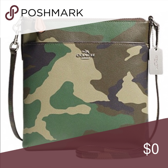 10e1ee3051 ISO COACH CAMO CROSSBODY ISO COACH CAMO CROSSBODY. LOOKING FOR THIS SMALL  COACH CAMO Coach Bags Crossbody Bags