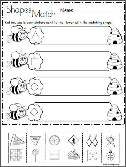 Free 2d Shapes Math Worksheet For Kindergarten Madebyteachers Shapes Worksheet Kindergarten Shapes Kindergarten Kindergarten Math Worksheets