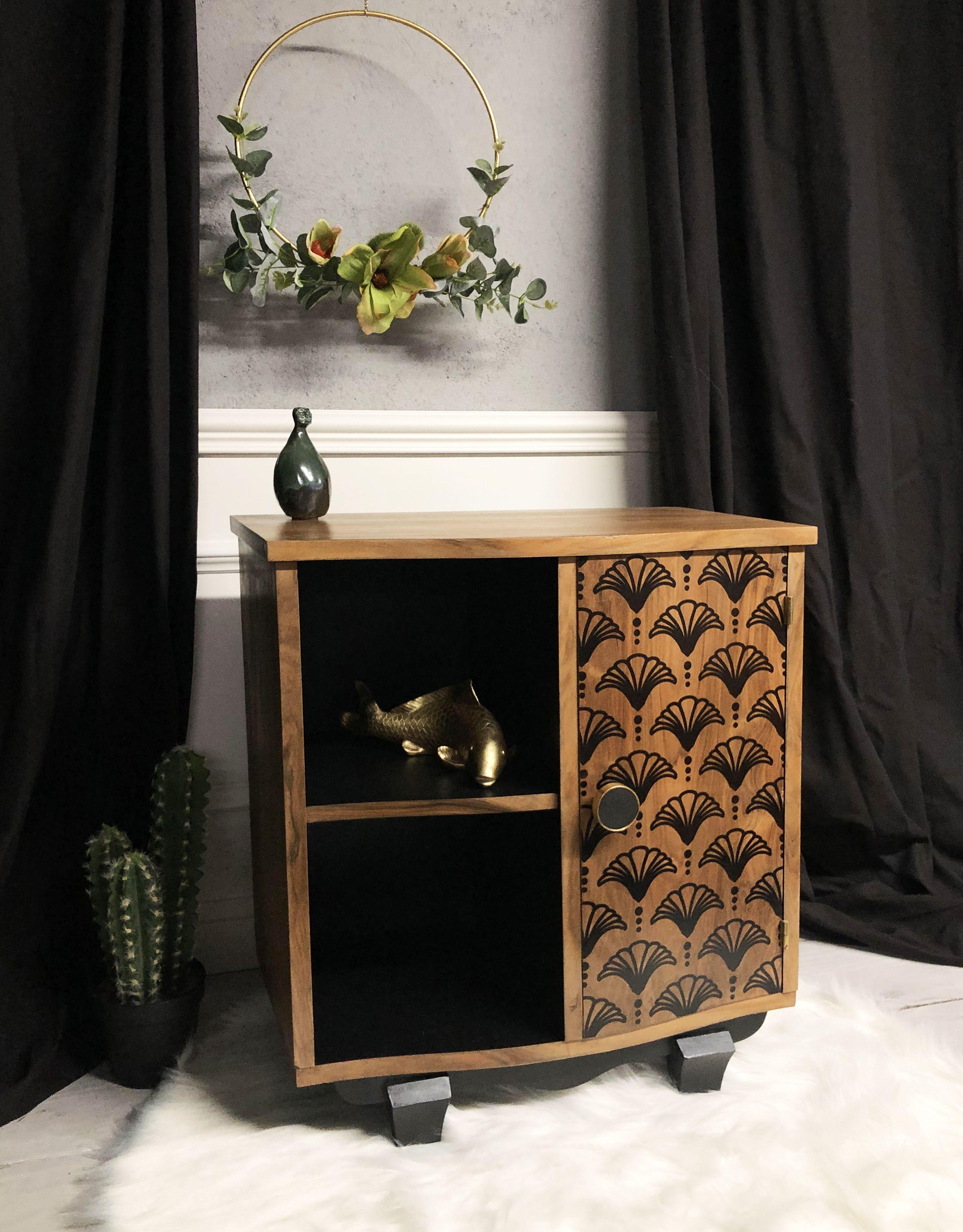 Chevet Vintage En 2020 Mobilier De Salon Relooking Meuble Decoration Appartement