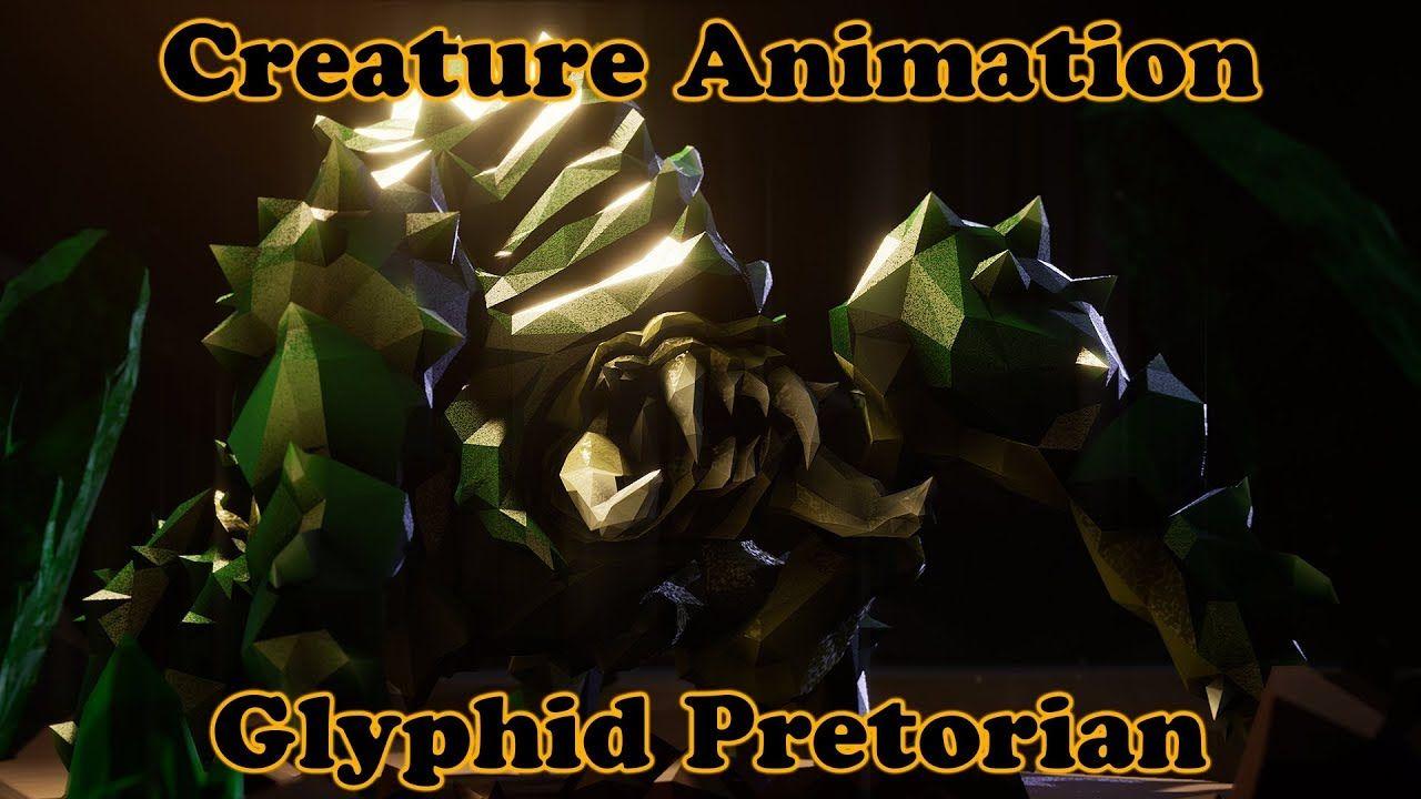 Creature Animation - Pretorian - Deep Rock Galactic