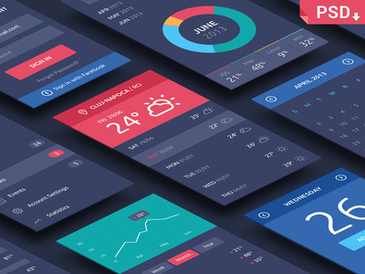 Isometric Perspective Screens Mock Up App Interface App Interface Design Free Psd Mockups Templates