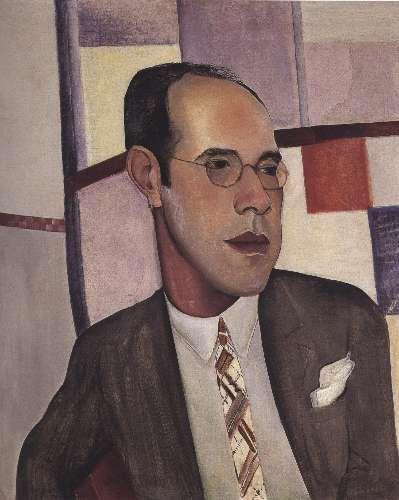 Retrato de Mário de Andrade por Lasar Segal