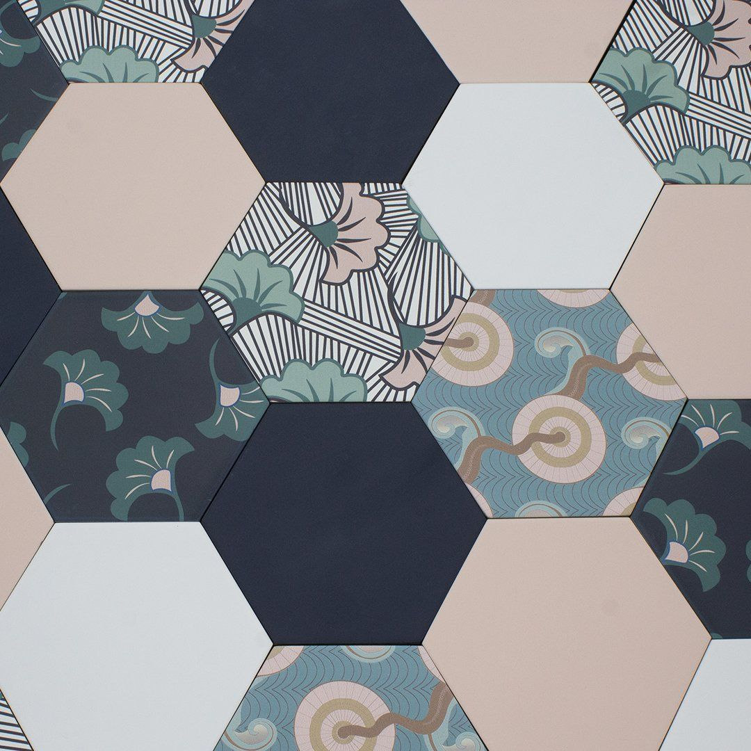Patterned Tiles Online Toronto, Fish Scale, Samples, Floor