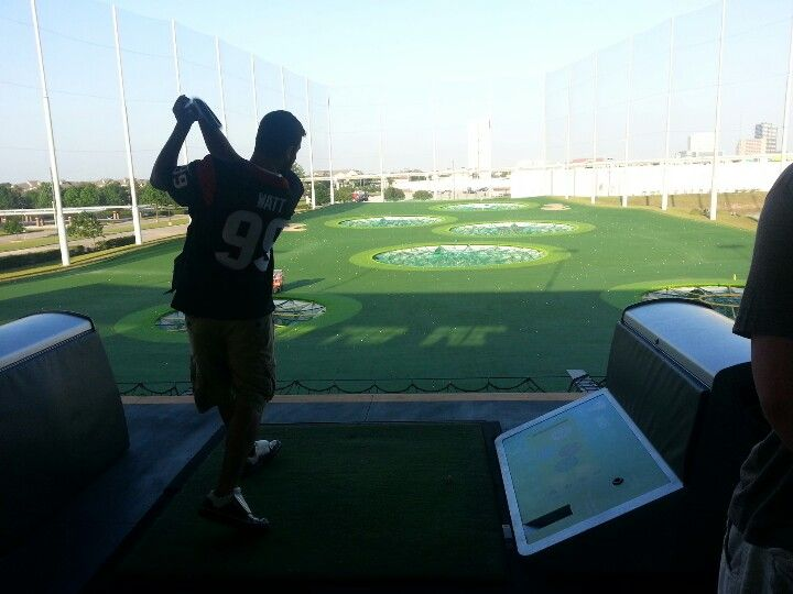Top Golf Houston this place is AWESOME!