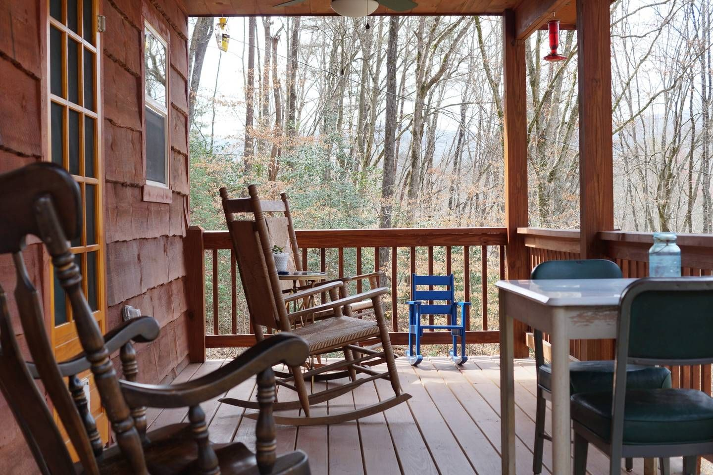 Cozy Cabin in the Woods - Cabins for Rent in Whittier, North Carolina, United States   Cozy ...