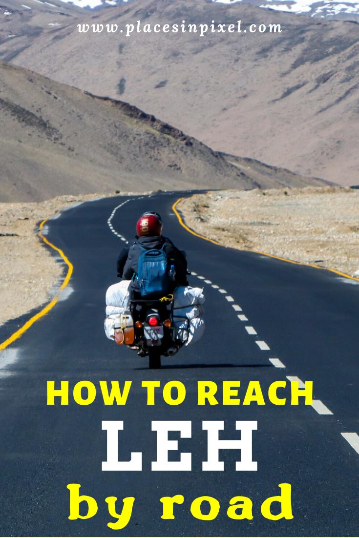 How To Reach Leh By Road Road Trip Destinations Road Trip Leh
