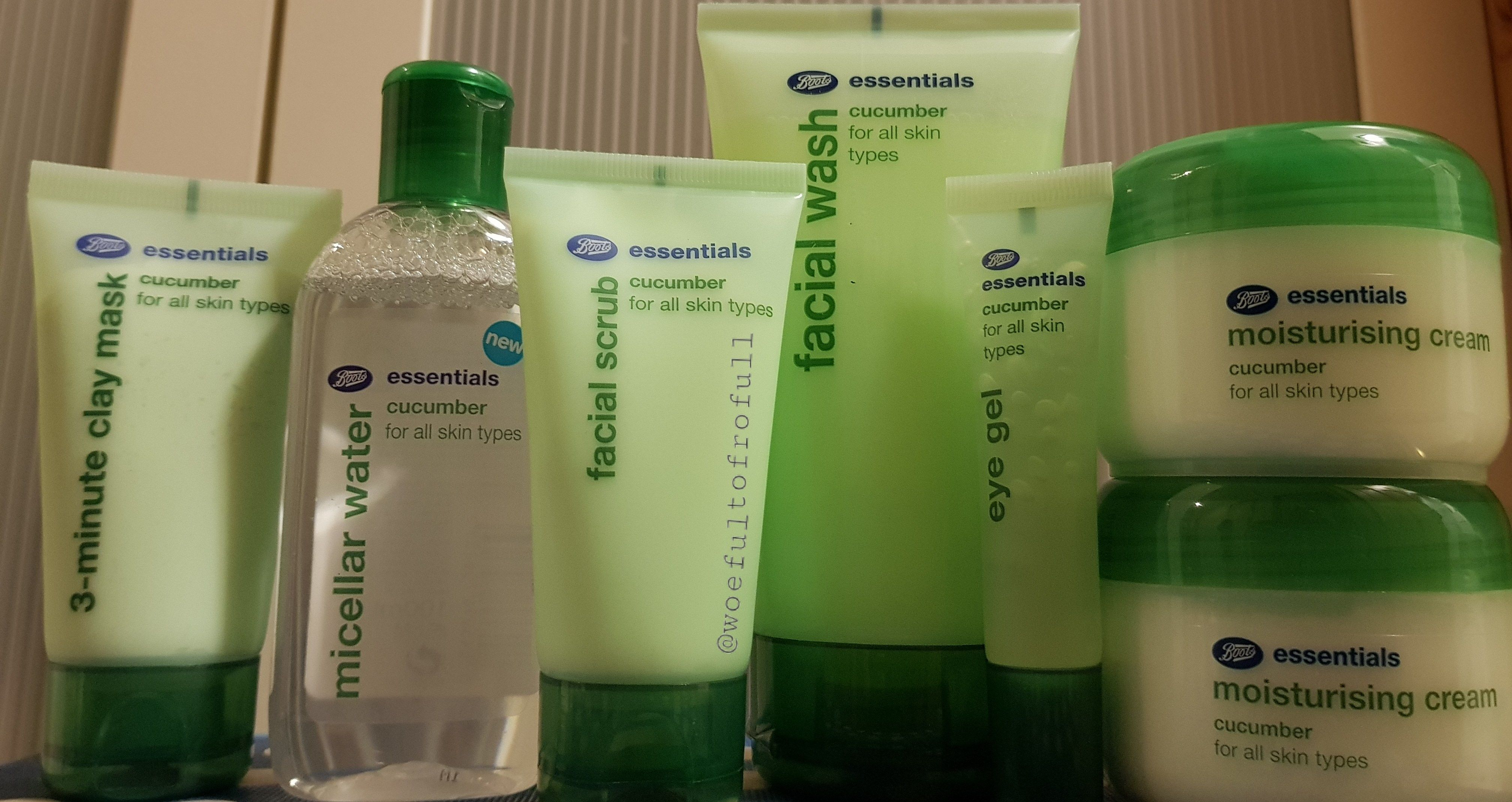 End Of The Range Review Boots Cucumber Essentials Moisturizer
