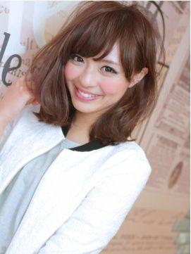 30 40代に人気 可愛いミディアムヘアカタログ 2016春夏髪型ヘアスタイル Naver まとめ Asian Hair Hair Styles Hairstyle