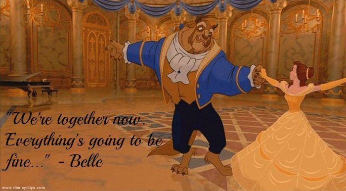 17 Disney Beauty And The Beast Quotes With Images Blue Moon Of