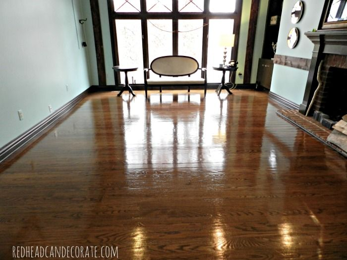 No Sanding Non Toxic Wood Floor Refinishing Part 2 Living Rooms