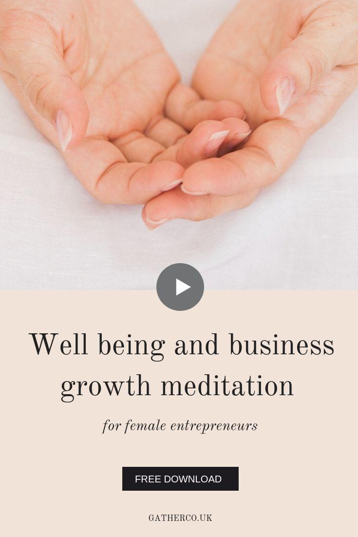Daily feel amazing meditation for female entrepreneurs ...