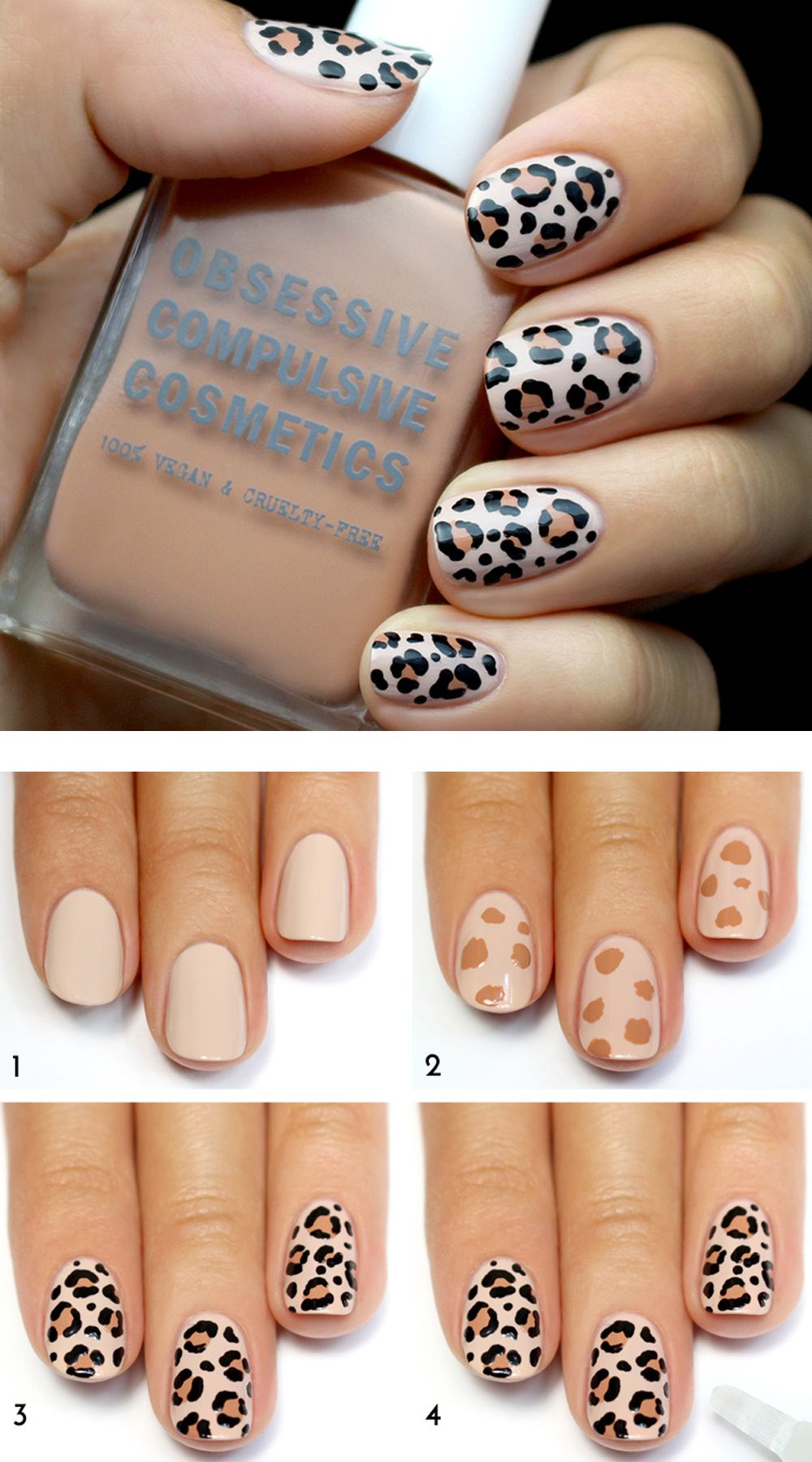 4 Nail Designs That Seem Tricky But Aren\'t | Design tutorials, Art ...