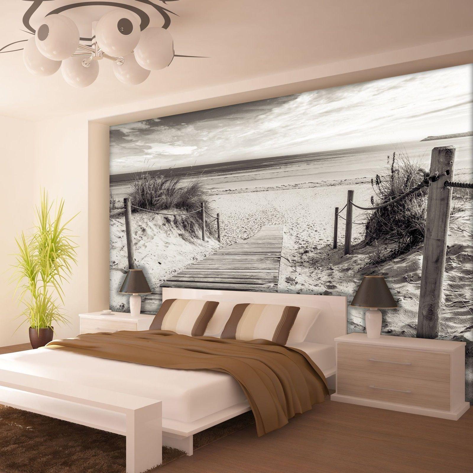 schlafzimmer gestalten strand  Wohnzimmer Wnde Streichen Ideen  Fototapete schlafzimmer