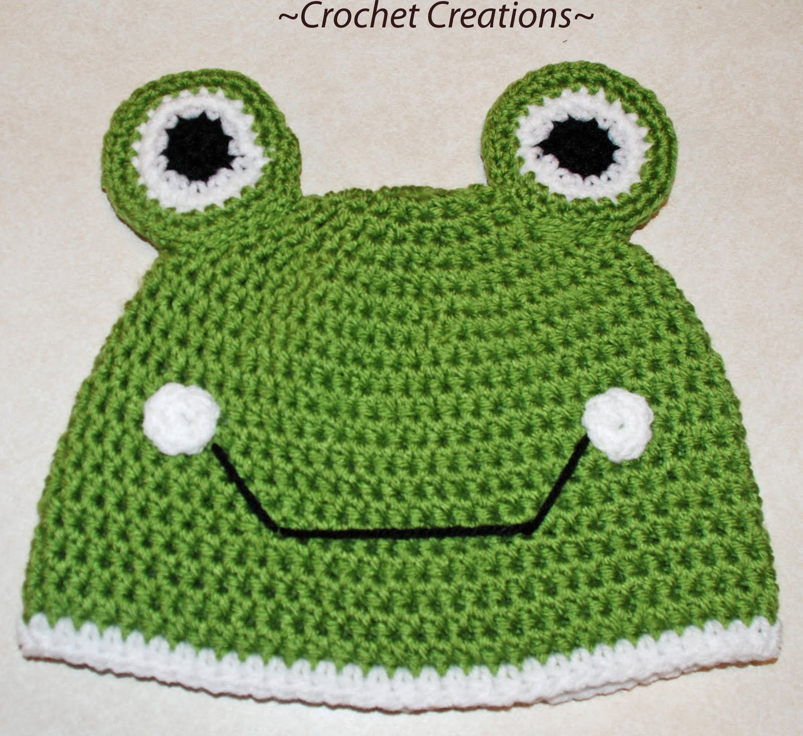 Crochet creative creations free patterns and instructions crochet creative creations free patterns and instructions crochet frog child hat bankloansurffo Gallery