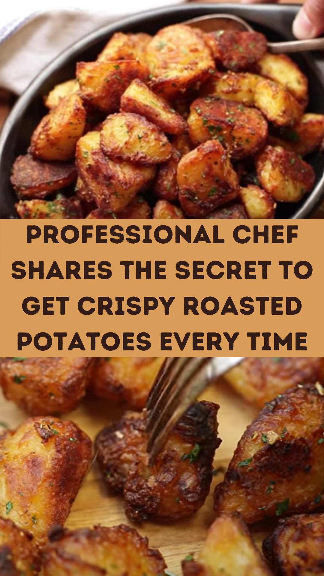 Professional chef shares the secret to get crispy