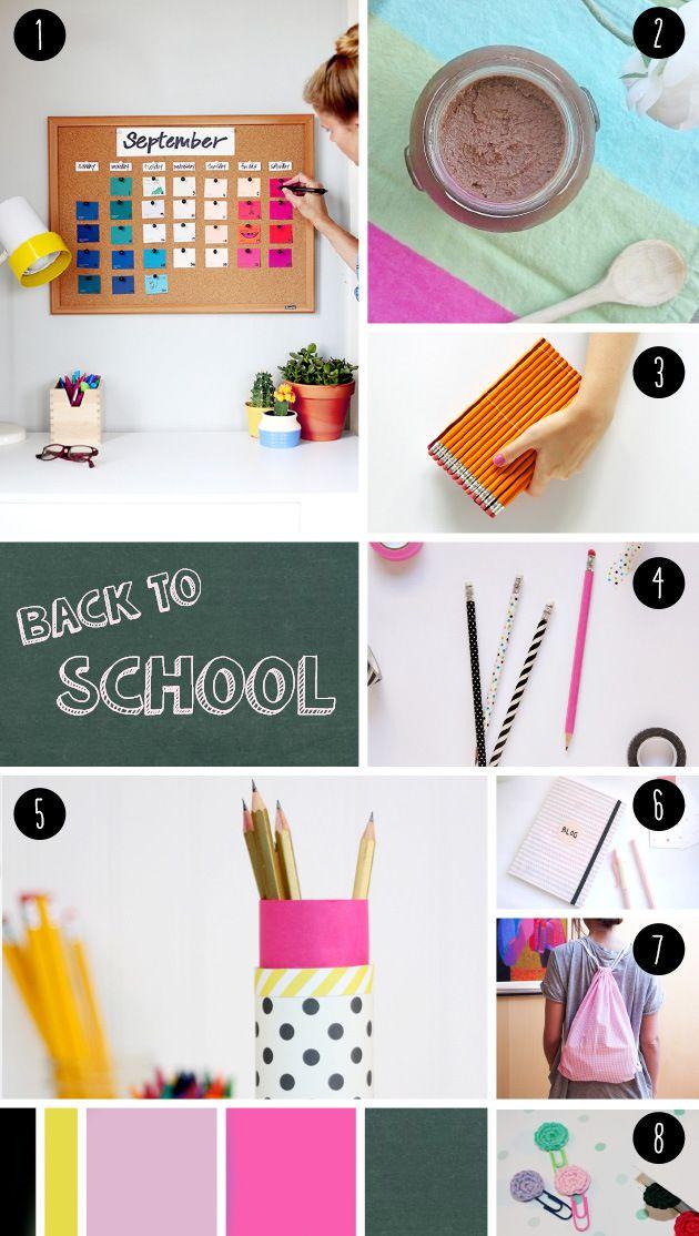 """8 Back to School DIY seen at """"IamaMessBlog"""""""