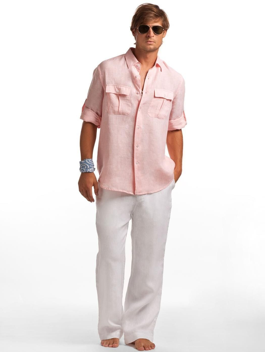 402c6dc13d3 Sunrise Linen Pilot Shirt - Men s Resort Wear