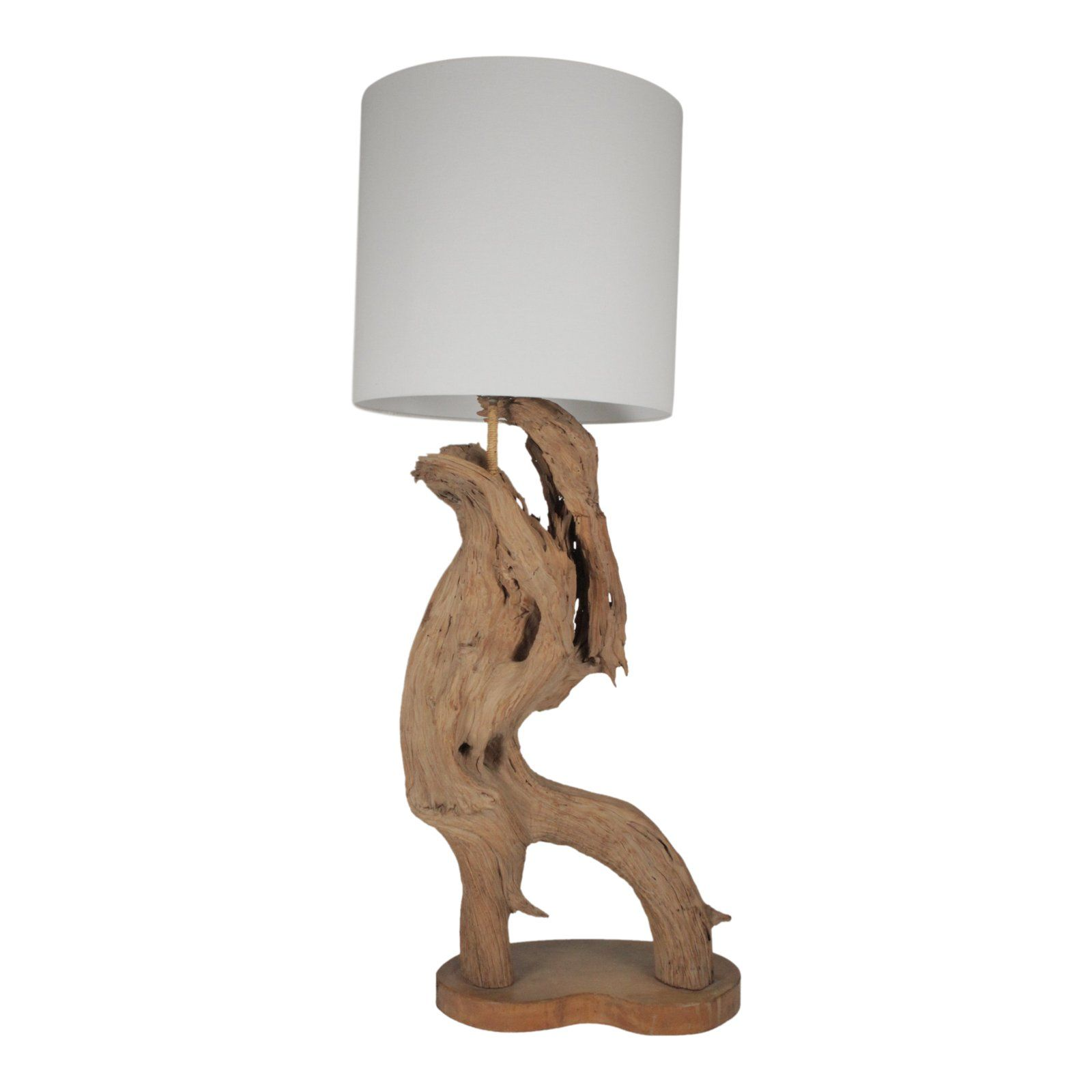 This Is A Sculptural Driftwood Table Lamp The Shade Is Not Included In The Sale And Shown To Give Proportion To The Lamp Lamp Driftwood Lamp Table Lamp