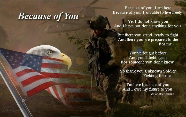 Thank you to all who serve or have served!