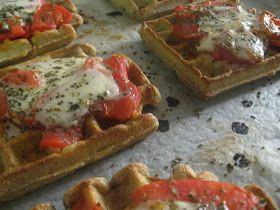 Roci en la cocina: Gofres pizzeros