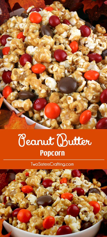 peanut butter popcorn rezept in 2018 popcorn. Black Bedroom Furniture Sets. Home Design Ideas
