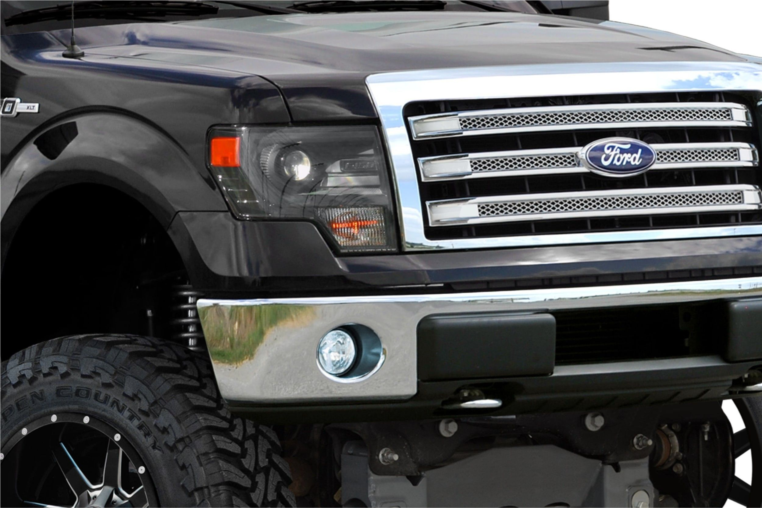 Elegant 2014 Ford F150 Headlights With Images 2014 Ford F150