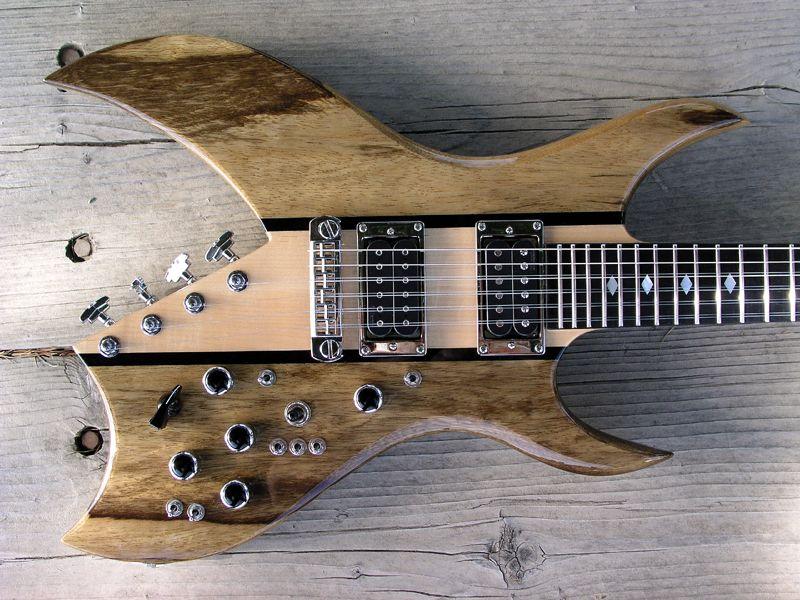 custom neck through neal moser guitars fine custom handmade guitars basses electric guitar. Black Bedroom Furniture Sets. Home Design Ideas