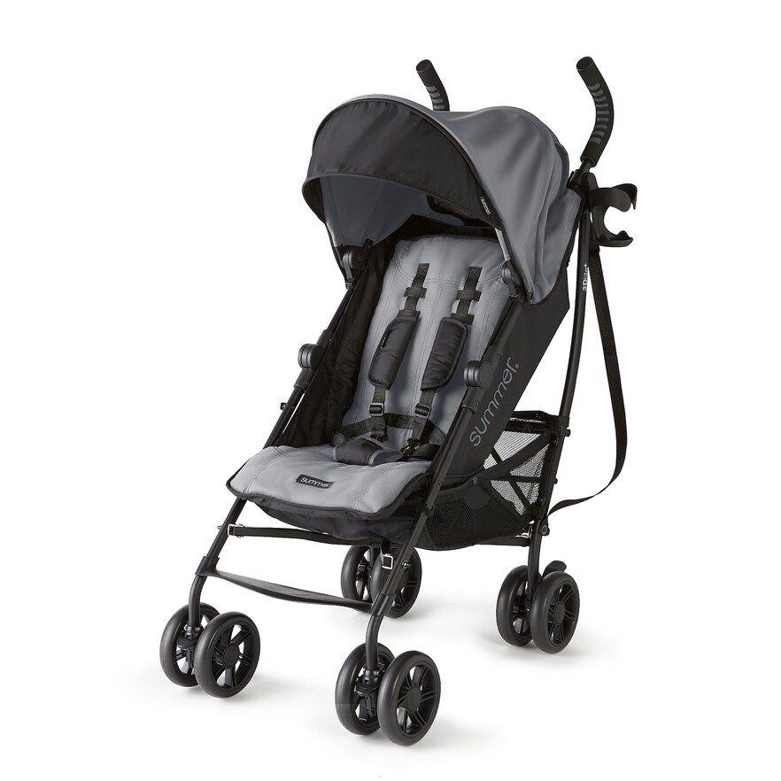 Summer Infant 3Dlite+ Ultimate Convenience Stroller, Grey