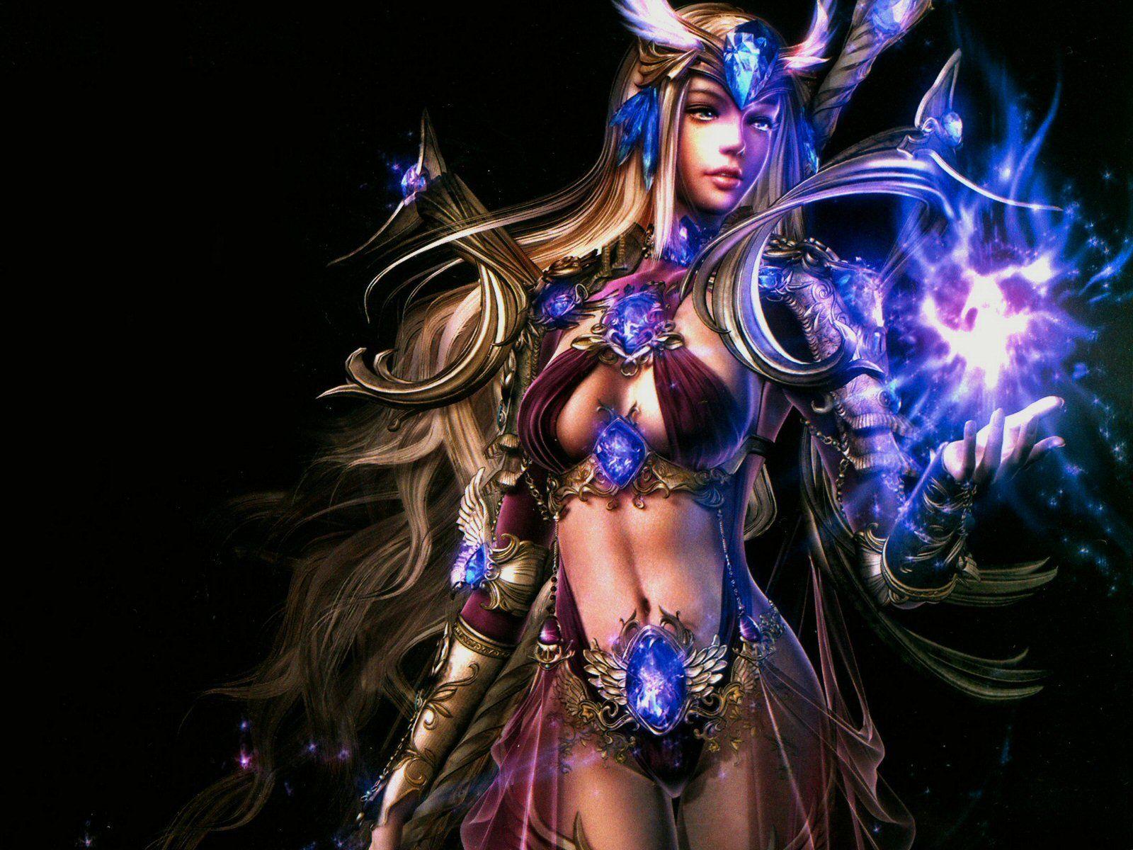 Fantasy Wallpaper Women HD Desktop