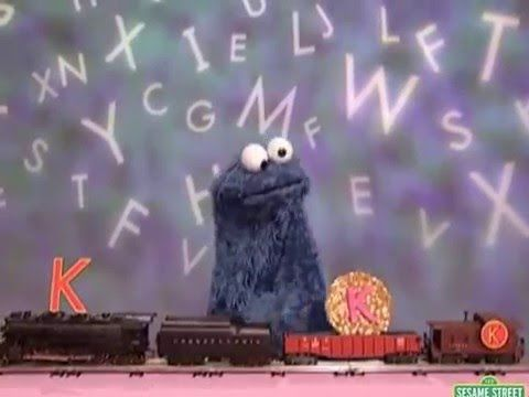 Sesame Street Cookie s Letter The Day Ks
