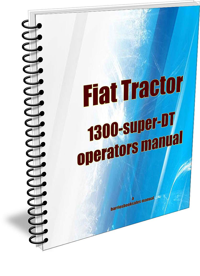 Fiat 1300 owners manual to download