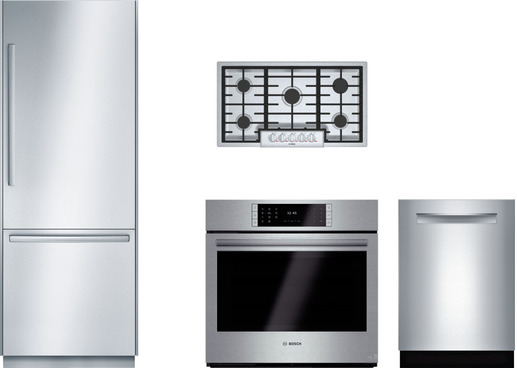 Bosch Benchmark Series Borectwodw78 Kitchen Appliance Packages French Door Refrigerator French Doors