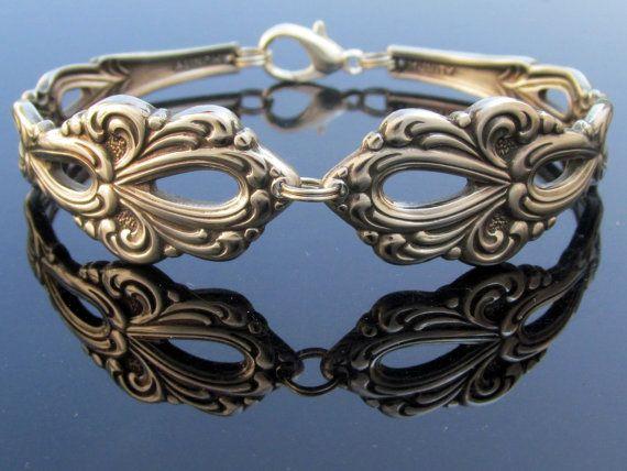 Spoon bracelet medium oneida chandelier bracelets medium and etsy spoon bracelet medium oneida chandelier aloadofball Gallery