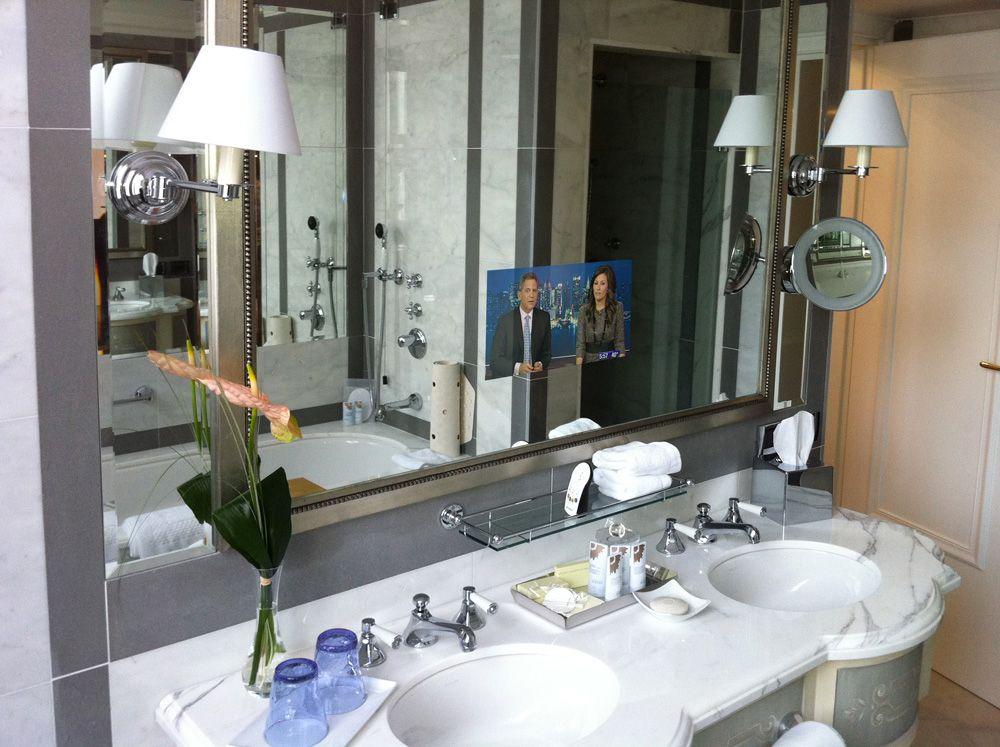 Bathroom Mirror TV By Ad Notam