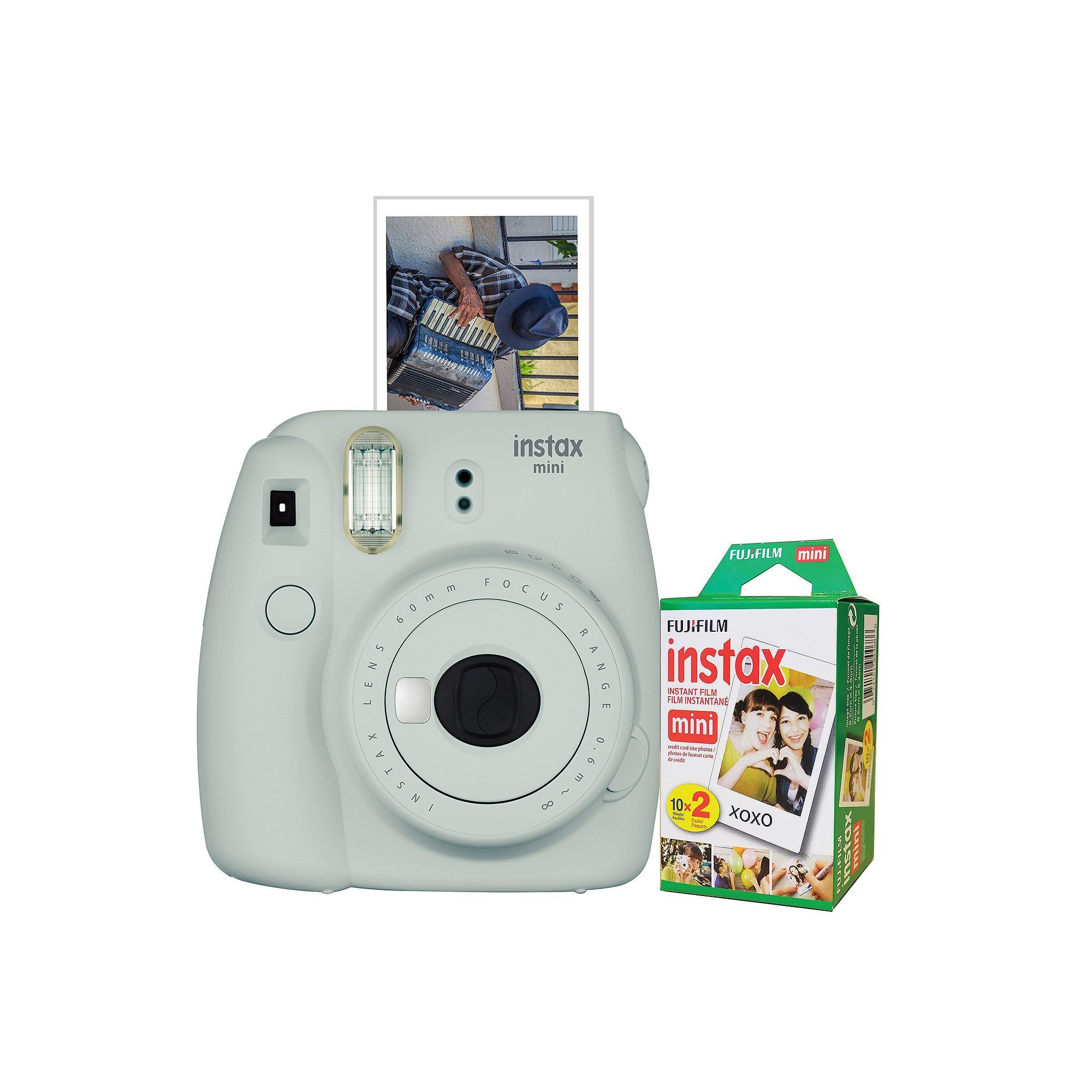 Camera Exterieur New Deal Fujifilm Instax Mini 9 Instant Camera Bundle With 20 Exposure Film