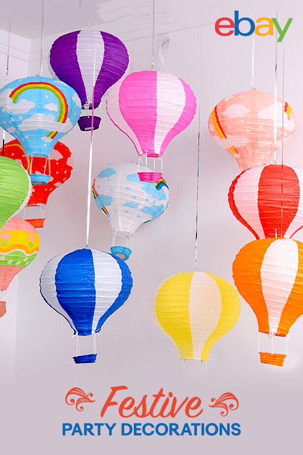 Hot Air Balloon Paper Lantern Home Room Decor Birthday Party Wedding Decoration Hot Air Balloon Paper Paper Lanterns Hot Air Balloon Wedding