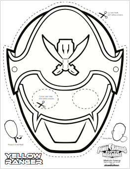super mega power rangers printable coloring masks all mommy wants - Blue Power Rangers Coloring Pages