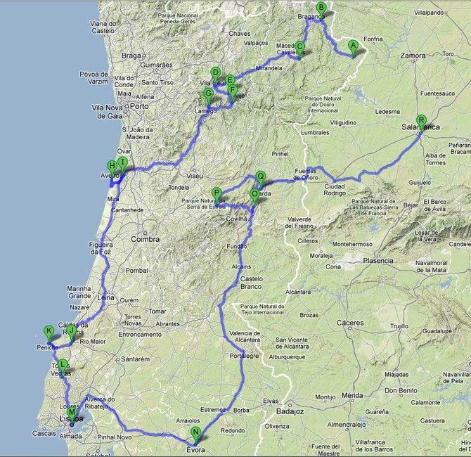 2012 portugal voyage en camping car voyages pinterest voyages camping car et camping. Black Bedroom Furniture Sets. Home Design Ideas