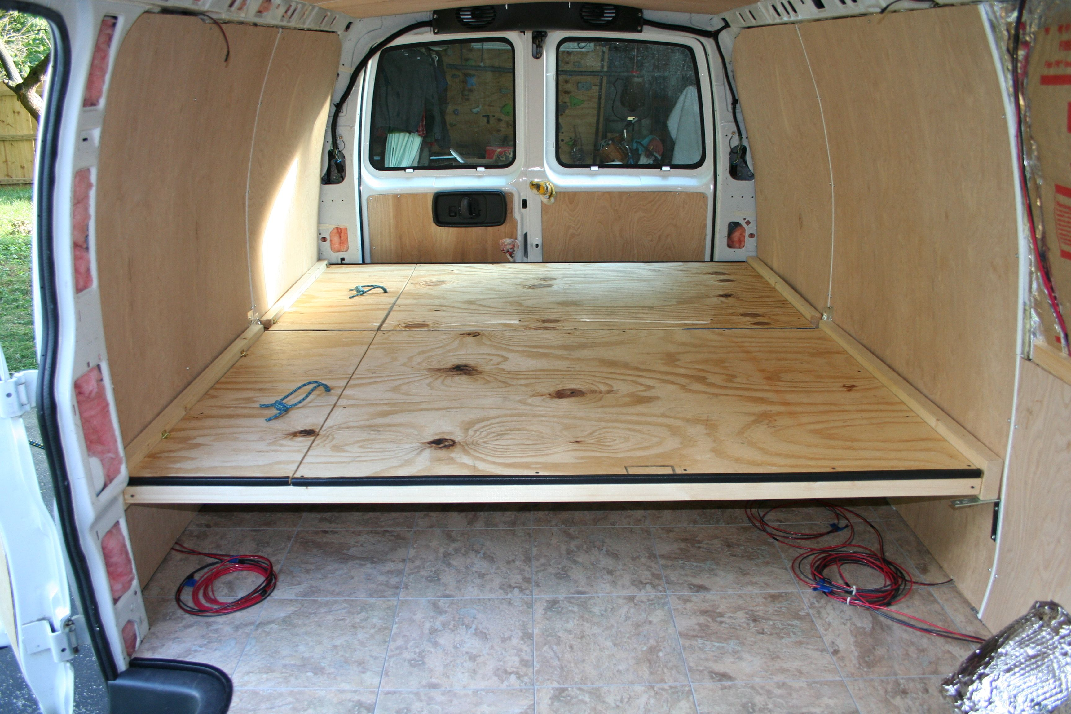 Van Construction Rv Camper Conversion And Van Life