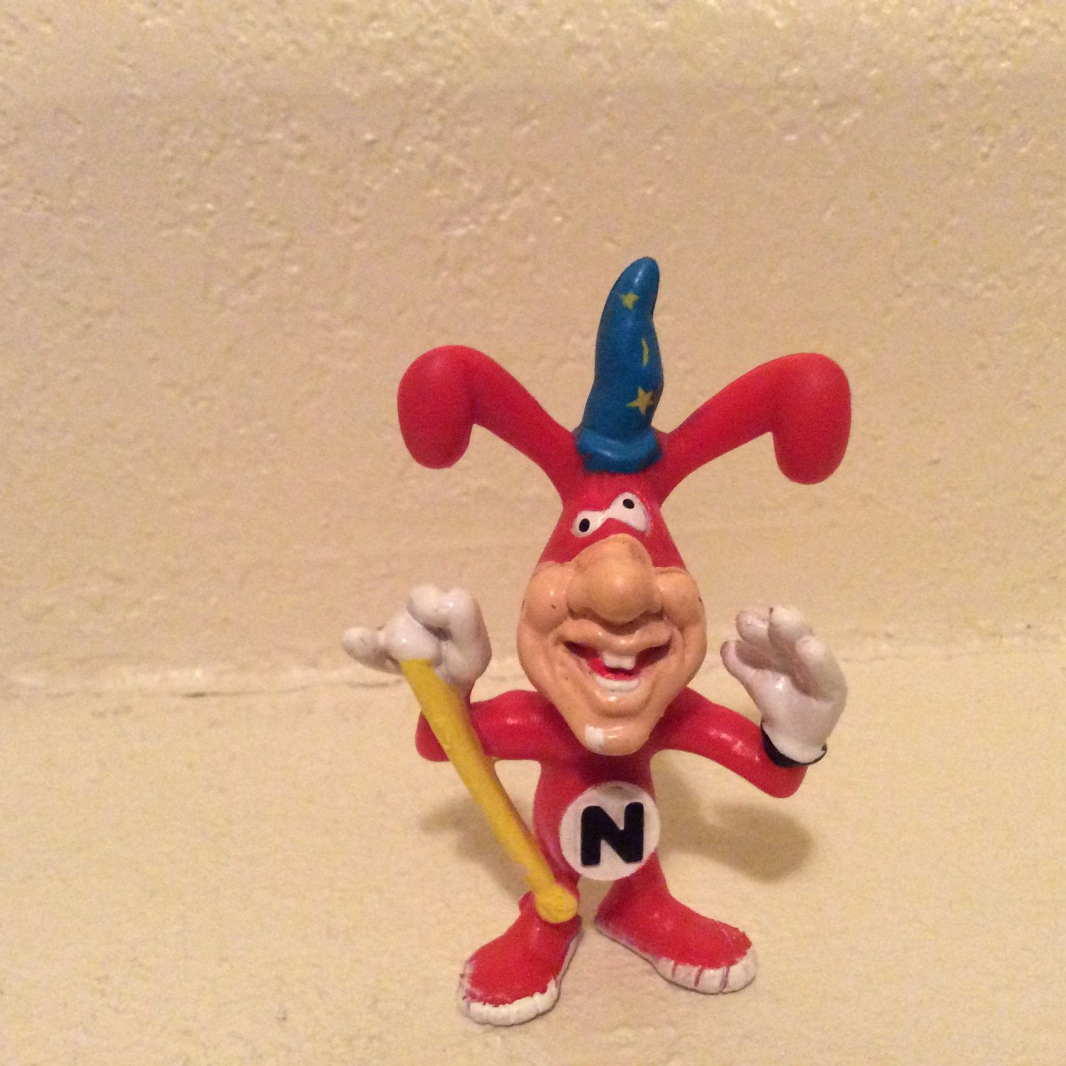 remember the noid these were the good old days when domino s vintage 1988 noid claymation from dominos pizza by landoftheold on