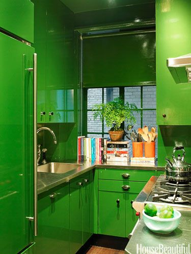 Color Of The Year Emerald Rooms Green Kitchen Kitchen Remodel Small Kitchen