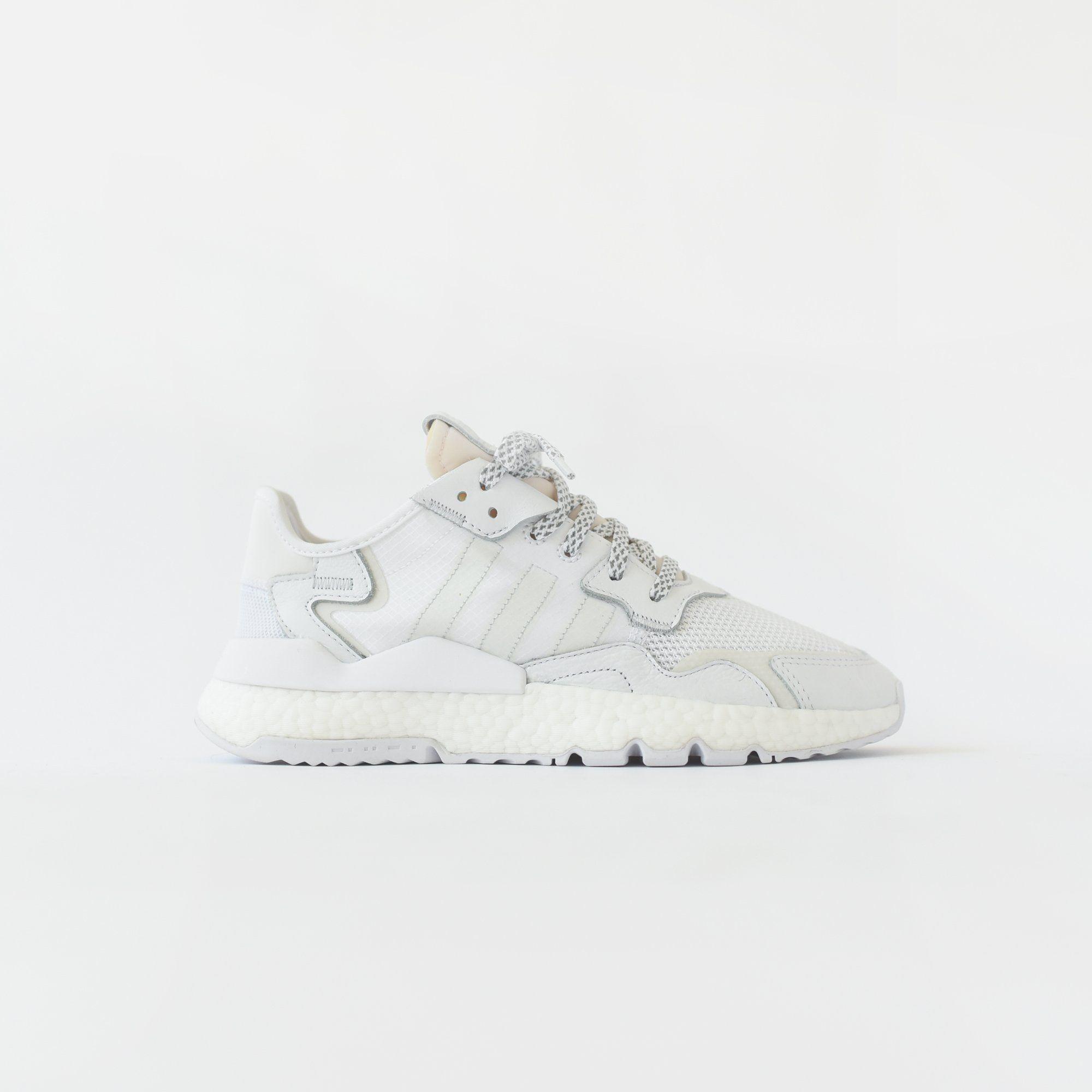 brand new 40987 0dd34 adidas Originals Nite Jogger Boost - White   Crystal White   Grey – Kith