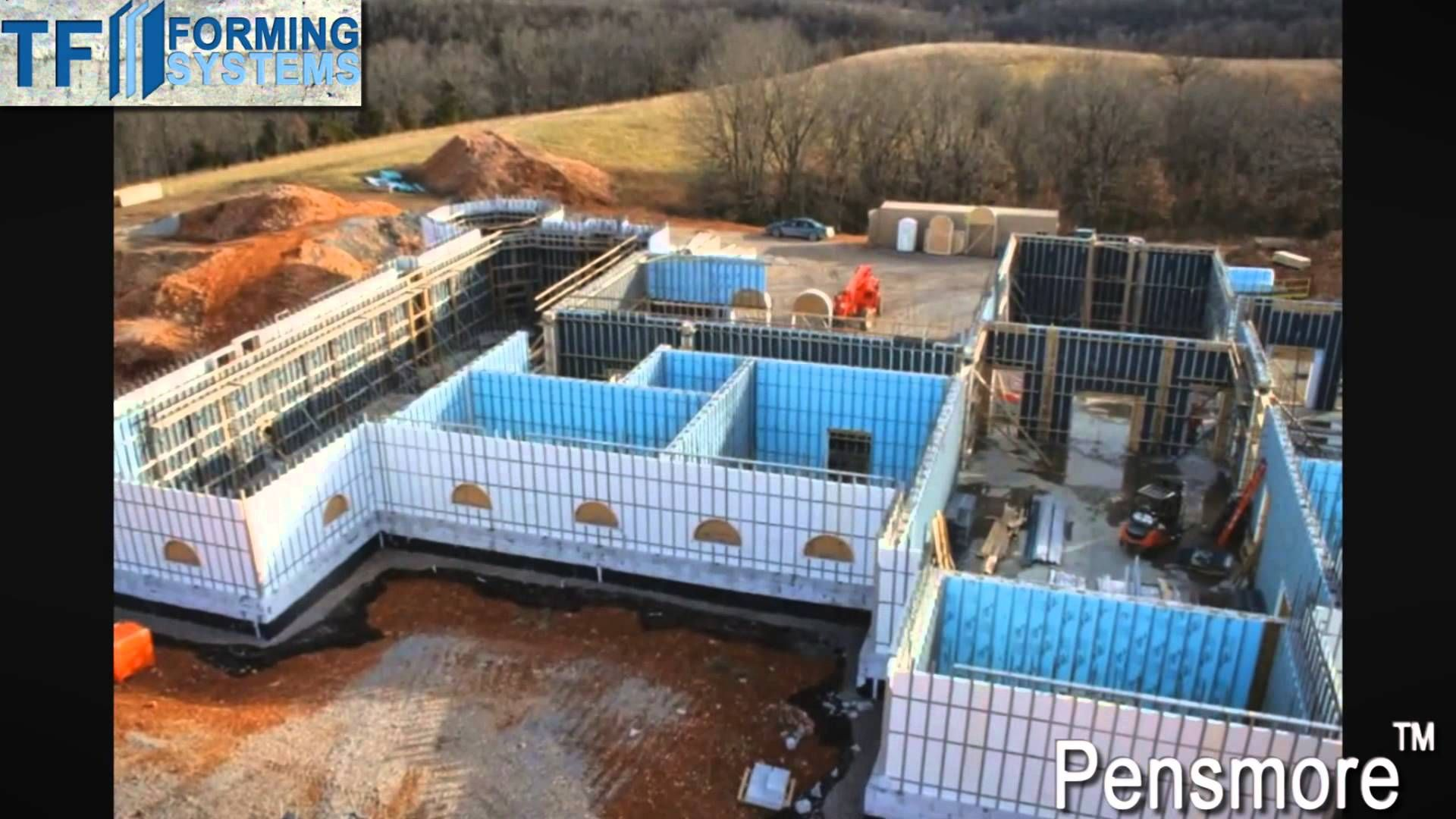 Insulated concrete form icf what is it icf must see for Icf home construction
