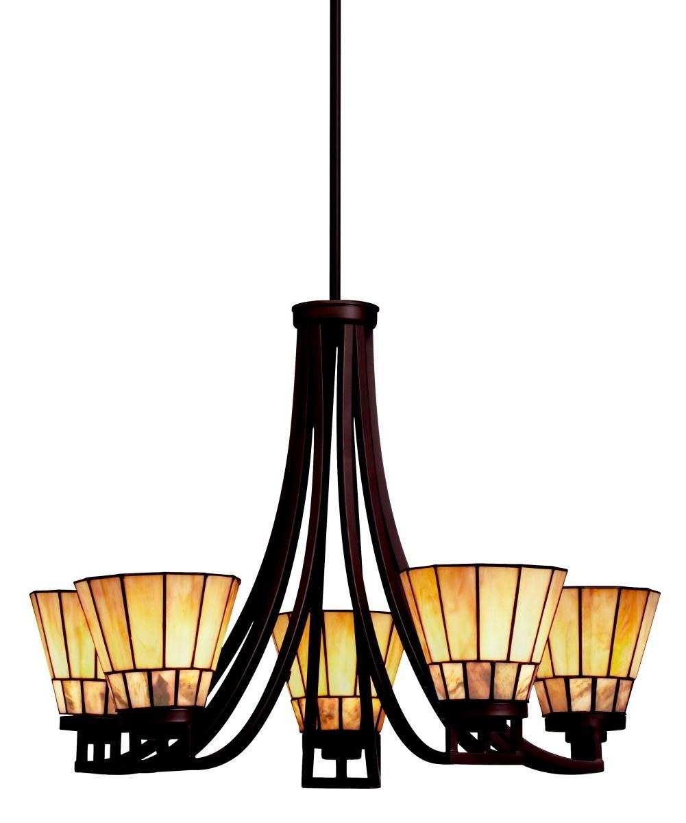Morton 5lt chandelier missioncraftsman style lighting morton 5lt chandelier lodge stylerustic aloadofball Image collections