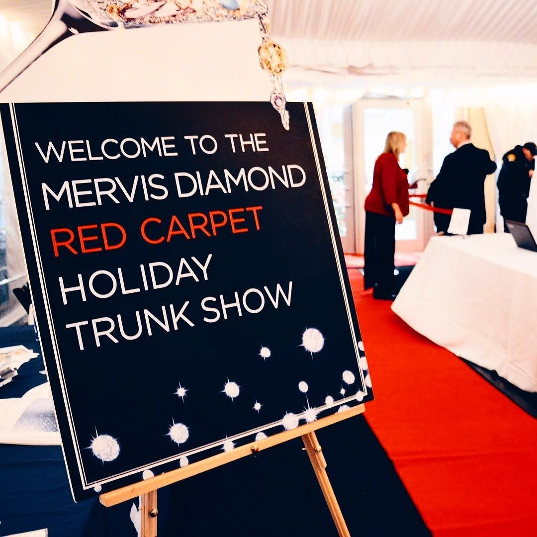 Our Red Carpet Holiday Trunk Show begins tonight at 6pm at